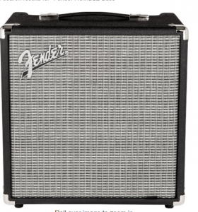 Fender RUMBLE Bass Combo Amp Review