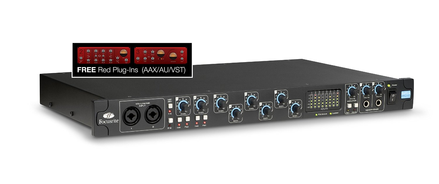Focusrite Saffire Pro 40 review
