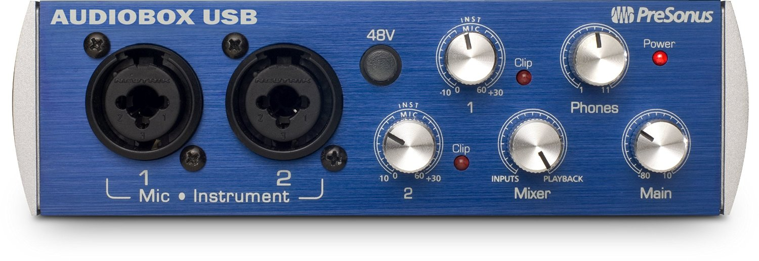 PreSonus AudioBox USB 2x2 review