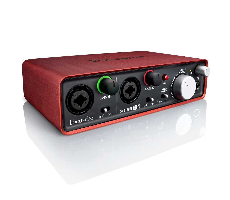 Focusrite Scarlett 2i2 USB Recording Audio Interface review