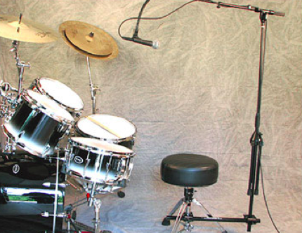 The Clamp-It - Drummer Mic Stand Holder